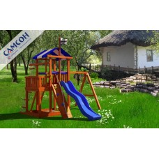 Детская игровая деревянная площадка Бретань в Москве