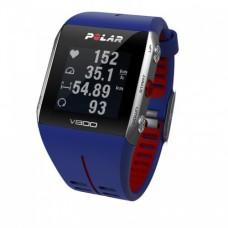 POLAR V800 HR (blue) спортивные GPS-часы в Москве