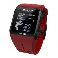 POLAR V800 HR (red) спортивные GPS-часы в Москве