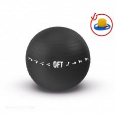 Гимнастический мяч 75 см OFT с эффектом анти-взрыв в Москве