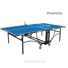 Всепогодный складной теннисный стол DONIC TORNADO-AL-OUTDOOR (синий) в Москве