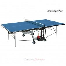 Всепогодный складной теннисный стол Donic Outdoor - Roller 800 синий в Москве