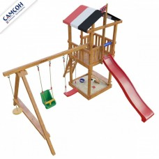 Детская игровая деревянная площадка Амстердам в Москве