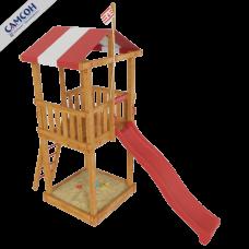 Детская игровая деревянная площадка Бремен в Москве
