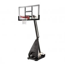 """Баскетбольная стойка мобильная, стекло Spalding 54"""" Glass Hybrid Portable - 71674CN в Москве"""