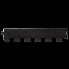 Бордюр для черного резинового коврика MB Barbell толщиной 12 мм в Москве